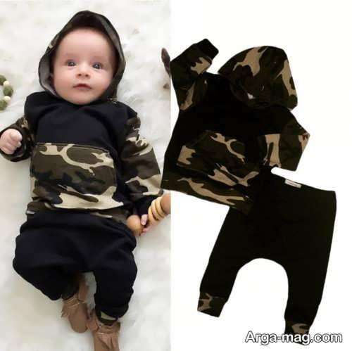 مدل بلوز و شلوار نوزادی