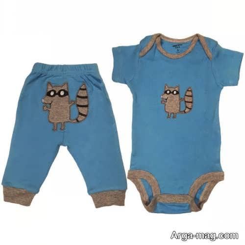 لباس سرهمی و راحتی نوزادی
