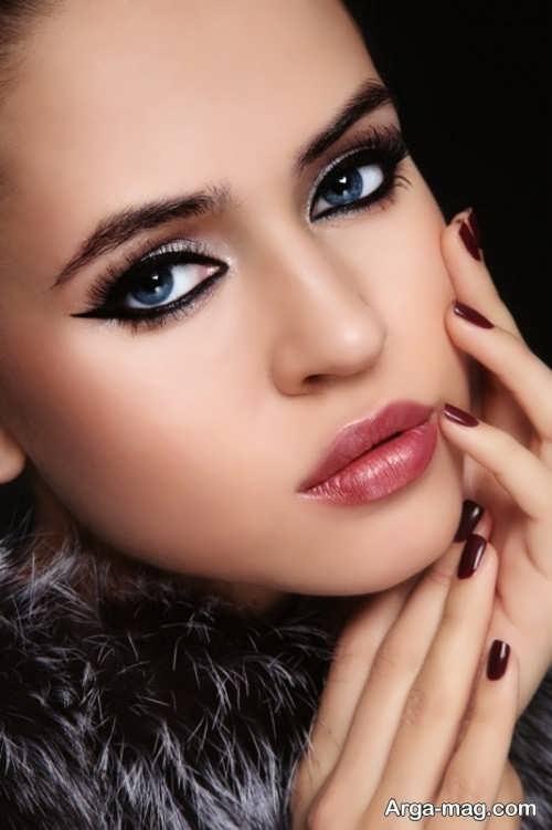 آرایش صورت زیبا و بی نظیر
