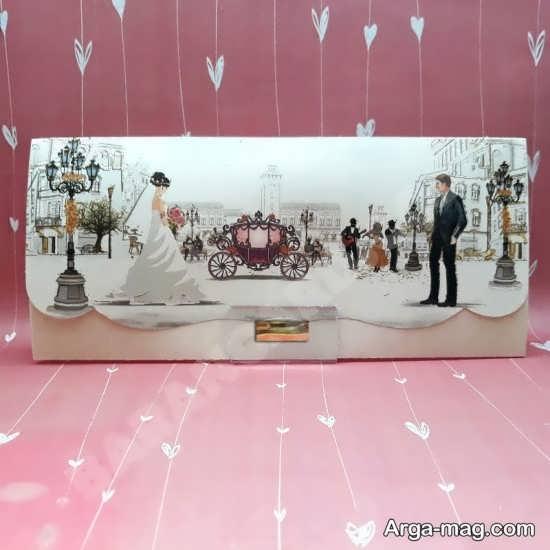 شیک ترین کارت عروسی با طرح های فانتزی