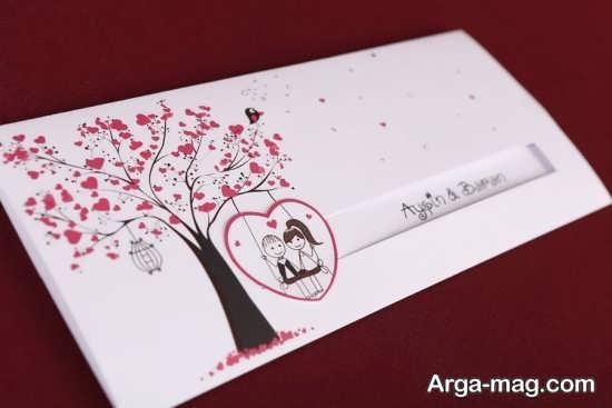 جذاب ترین کارت عروسی با طرح های فانتزی