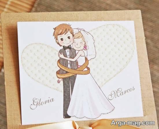 طرح های فانتزی خاص برای کارت عروسی