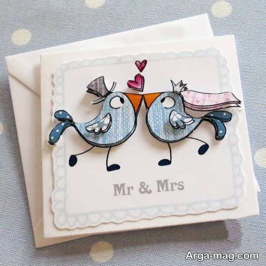 کارت عروسی قشنگ فانتزی