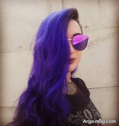 رنگ موی زیبا و شیک