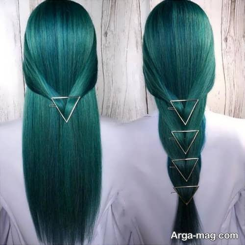 فرمول ترکیبی رنگ مو فانتزی
