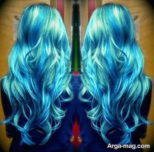 رنگ موی زیبا و خاص