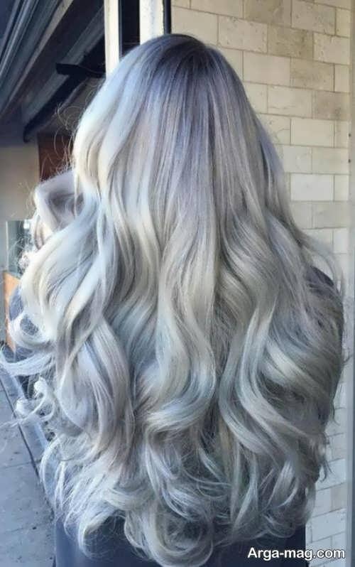 رنگ موی زیبا و متفاوت
