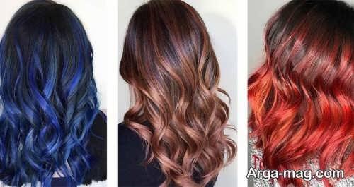 رنگ موهای زنانه