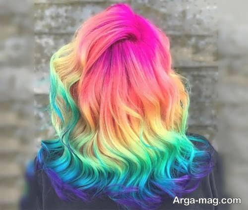 رنگ مو فانتزی زنانه