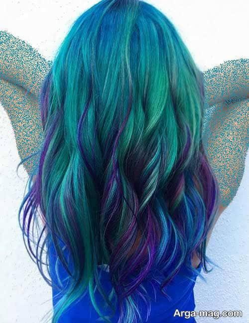 رنگ مو شیک و فانتزی