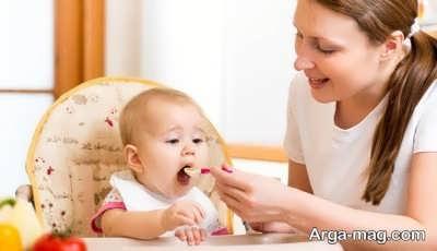 برنامه غذایی نوزاد 9 ماهه