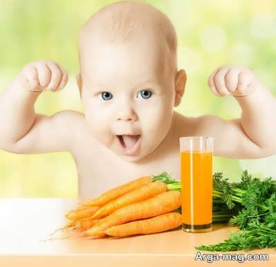 تغذیه کودک نه ماهه