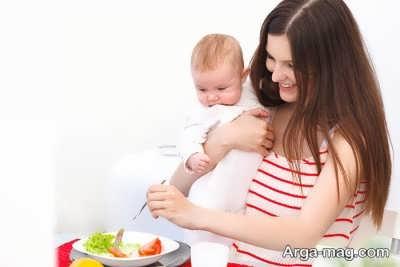 تغذیه مادر پس از زایمان