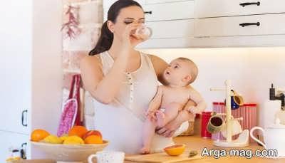 تغذیه زنان پس از زایمان