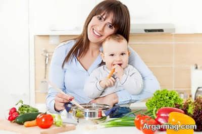 تغذیه مادر بعد از زایمان