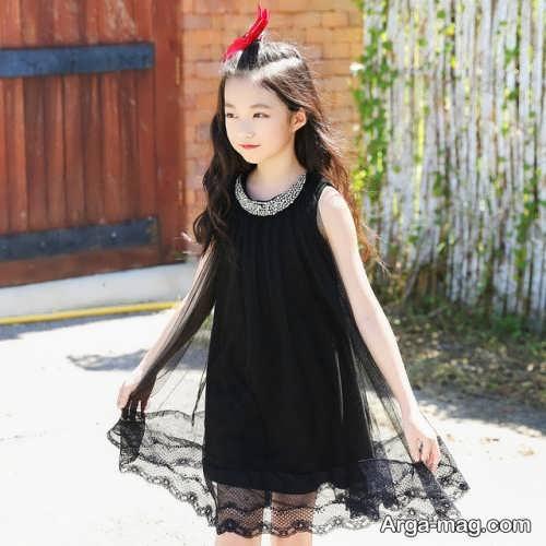 لباس مشکی بچگانه