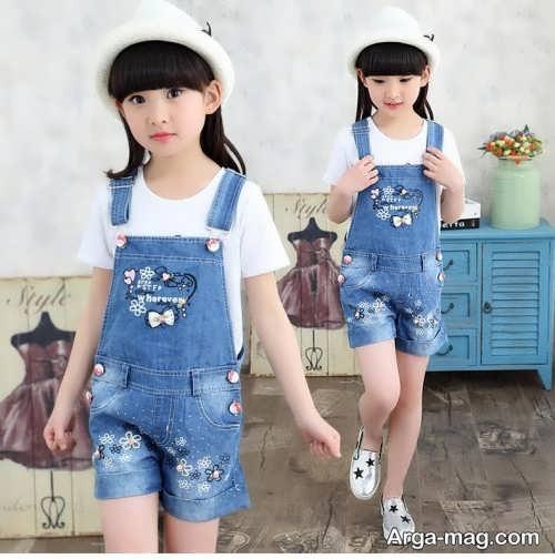 طرح لباس اسپرت بچگانه