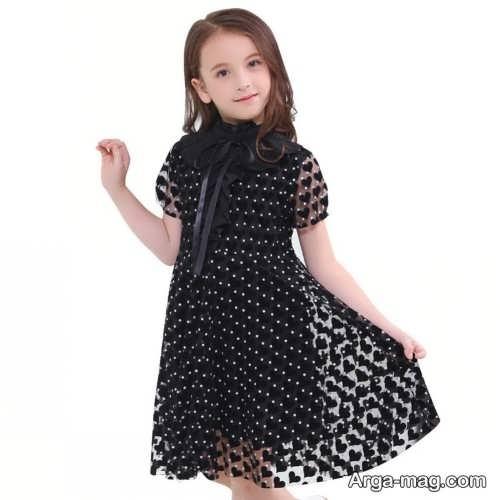 پیراهن بچگانه مشکی