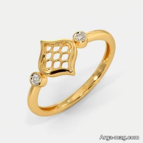 مدل انگشتر زیبا و طلا