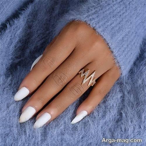 انگشتر طلا و شیک زنانه