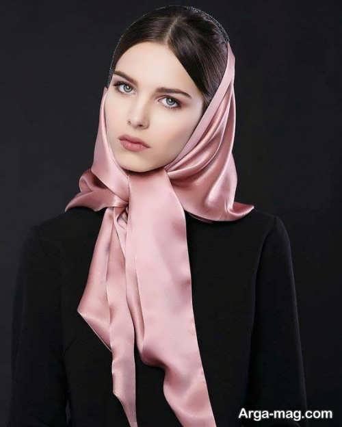 مدل مو زیر روسری
