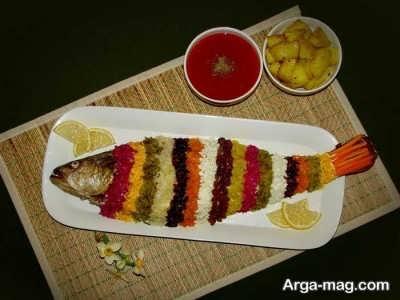 روش پخت ماهی شکم پر