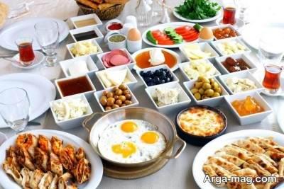 مصرف صبحانه فیبردار