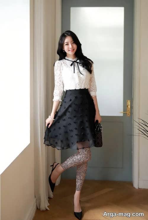 مدل لباس کره ای دخترانه و زنانه شیک و متفاوت