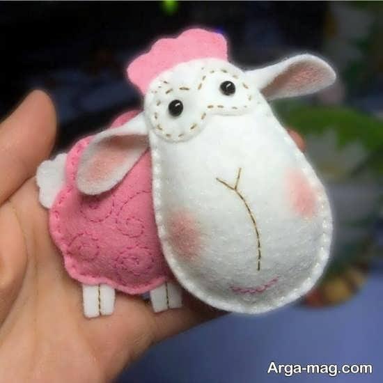 ایده های هنرمندانه برای ساخت گوسفند