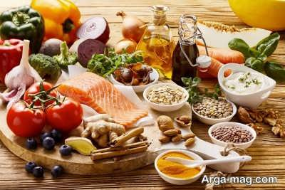 دریافت مواد معدنی و ویتامین با رژیم لاغری مدیترانه ای