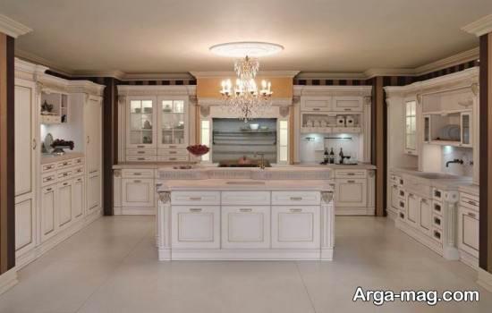 زیبا شدن فضای آشپزخانه