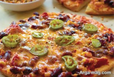 پیتزا مکزیکی خوشمزه