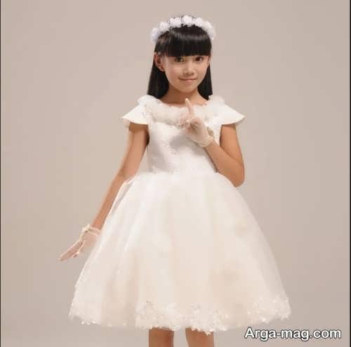 پیراهن عروس بچه گانه دخترانه