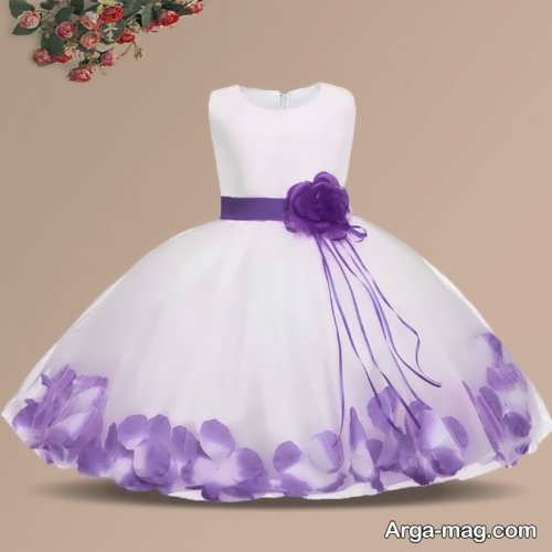 لباس عروس رنگی و زیبا بچه گانه