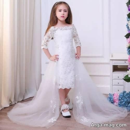 مدل پیراهن عروس زیبا و جذاب بچه گانه