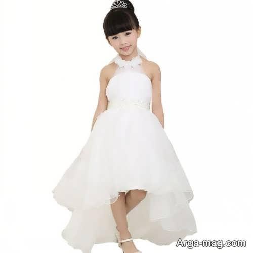 لباس عروس زیبا و جذاب بچه گانه