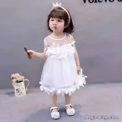 مدل لباس عروس زیبا و جذاب بچه گانه