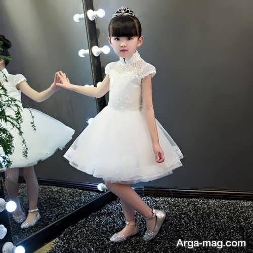 لباس عروس کوتاه بچه گانه
