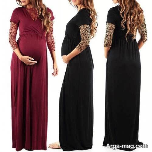 لباس بارداری زیبا و ساده