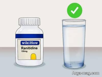 نحوه مصرف رانیتیدین