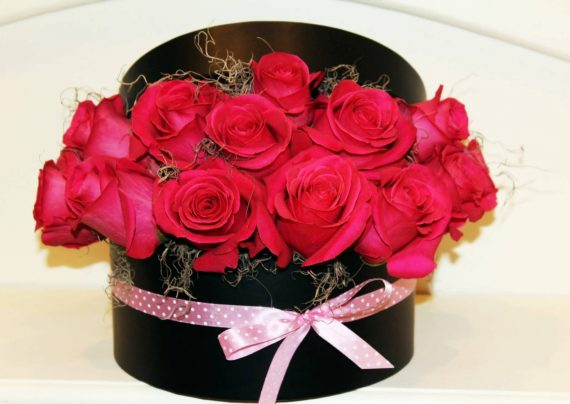 تزیین گل رز