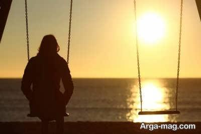 متن دلنشین در مورد تنهایی
