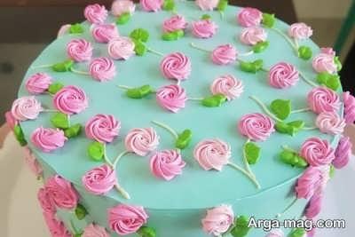 تزیین زیبا و فانتزی کیک