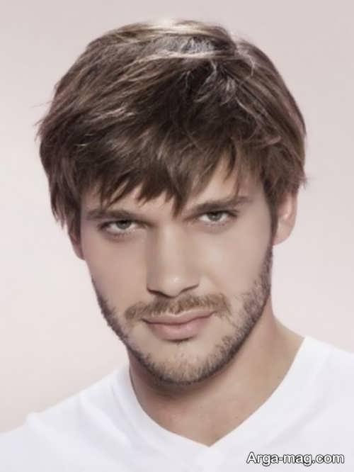 مدل مو ساده و شیک مردانه