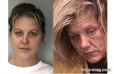 تاثیر گذاری مواد مخدر بر ظاهر فرد