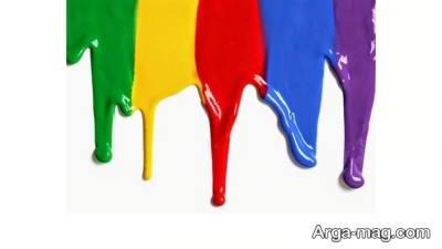 نرکیب کردن رنگ ها