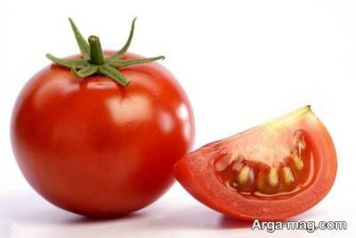 خواص گوجه خام