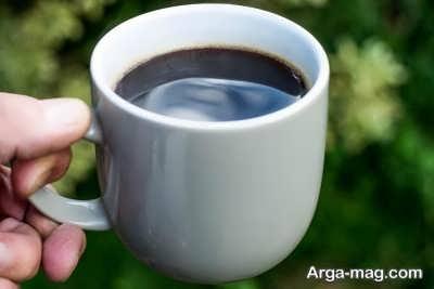 بهبود تنفس با قهوه