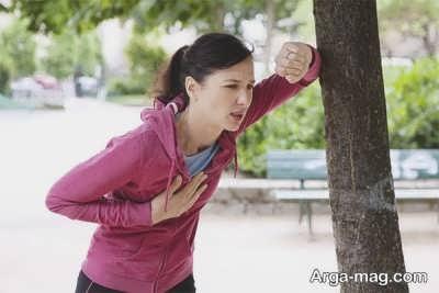 پیاده روی و درمان تنگی نفس