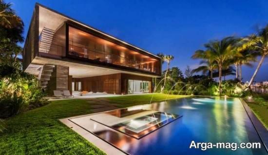 طراحی استخر جدید و زیبای خانگی